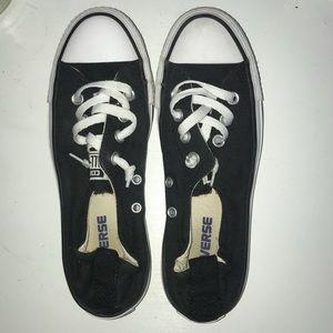 Black Slip-on Converse Sneakers